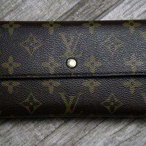 Louis Vuitton Monogram Portefeiulle Wallet